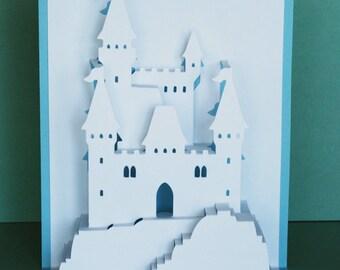 Princess Castle Pop-Up Card
