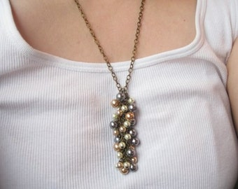 40 percent off  Cashmere Collection.  Pearl Necklace.