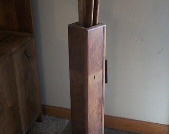 Reclaimed wood -Umbrella/Cane holder [TC131]