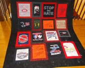 Custom t shirt quilt  - Cathy