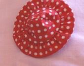 Vintage Barbie Polka Dot Hat - RARE