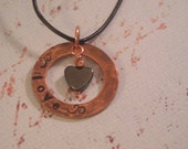 Copper and Hematite Necklace