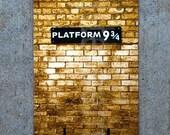 Platform 9 3/4 Bookmark - Harry Potter's Gateway