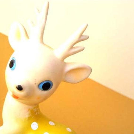Blue Eyed Deer 8x8 Kitchen Art Photo