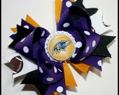 Two Nieces Baltimore Ravens Boutique Bow