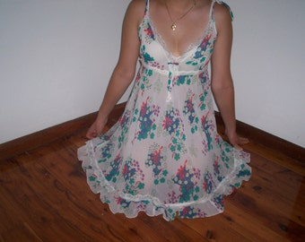 Vintage Handmade Summer Dress