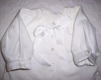 Christening Edwardian Baby Jacket Vintage