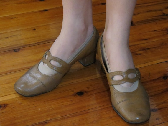 Vintage Antique Leather Womens Shoes