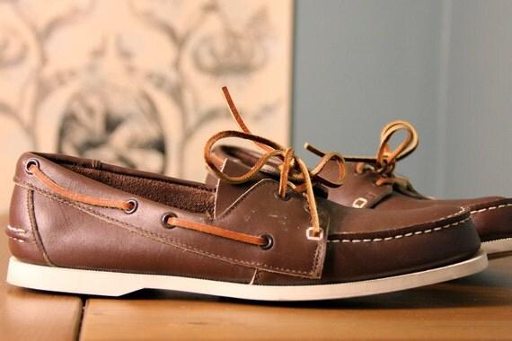 Sears mens boat shoe- size 10