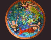 Mosaic Mermaids Party Platter