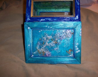 Artful Keepsake Treasure Chest marvelous mystery box is a magical, delightful Keeper of Beauty