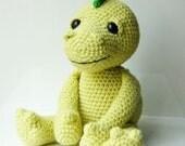 Amigurumi dragon soft toy crochet pattern. DIY. Instant download PDF file.