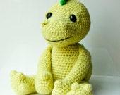 Amigurumi pattern, crochet pattern dragon soft toy plush pattern, instant download PDF file