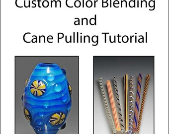 Deutsch Custom Color Blending and Cane Pulling Tutorial