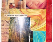 A Moment of Happiness - small card