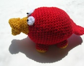 Custom Order for Callie (Amigurumi Platypus)