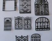 Iron Gate Die cut