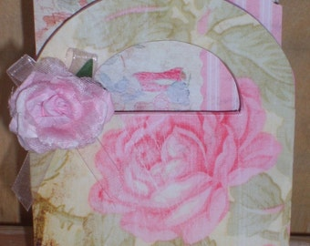 Chic Shabby Gift Box and Note Card Set