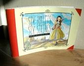 Six Bullets Six Strings - illustration story book zine