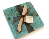 Kitchen Trivet and Cheese Server - Teal Blue - miasorellagifts