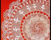 HANDMADE  NEEDLE  LACE  WALL  TAPESTRY (4)