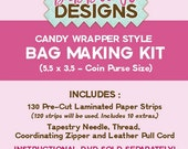 Candy Wrapper Style Bag Making Kit (5.5 x 3.5)