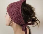 KARI - Crochet Headband, Purple