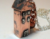 Arts & Crafts House Necklace