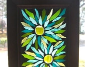 Stained Glass Floral Mosaic