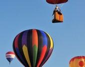 Photography Print of Hot Air Balloons