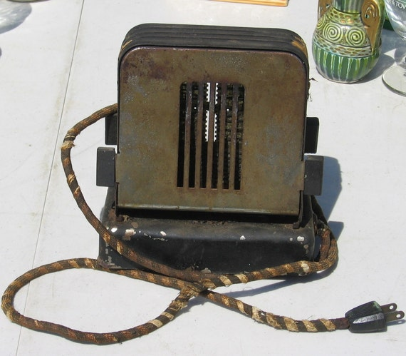 Antique Electric Toasters ~ Items similar to antique vintage electric metal toaster