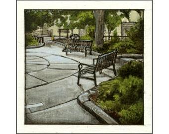 Palmer Park print of an original painting