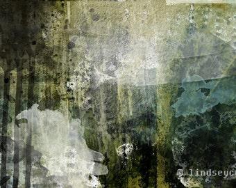 Abstract Art Print Gothic Modern Descent