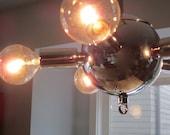 RESERVED - Sputnik Style Pendant Light