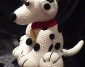 Picolo the Dalmatian Crochet Pattern