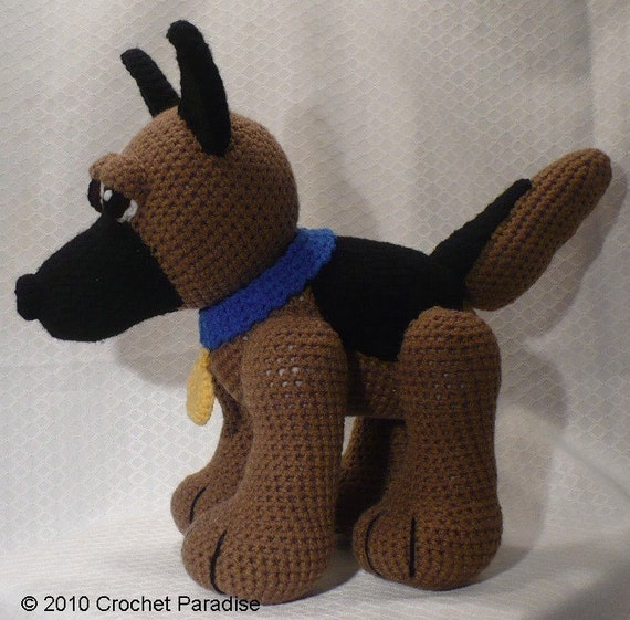 Items similar to German Shepherd Crochet Amigurumi on Etsy |Crochet German Shepherd
