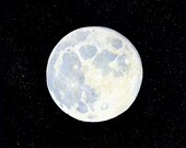 The Moon 8 x 10 inch print by SBMathieu