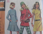 1960s Dress or Top and Pants Pantern