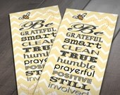 9 BE'S BOOKMARK from President Gordon B. Hinckley- Instant Printable Download