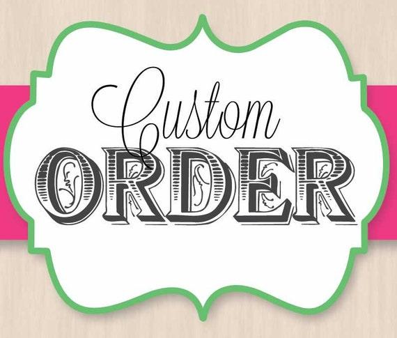 Custom Order for fishertammy