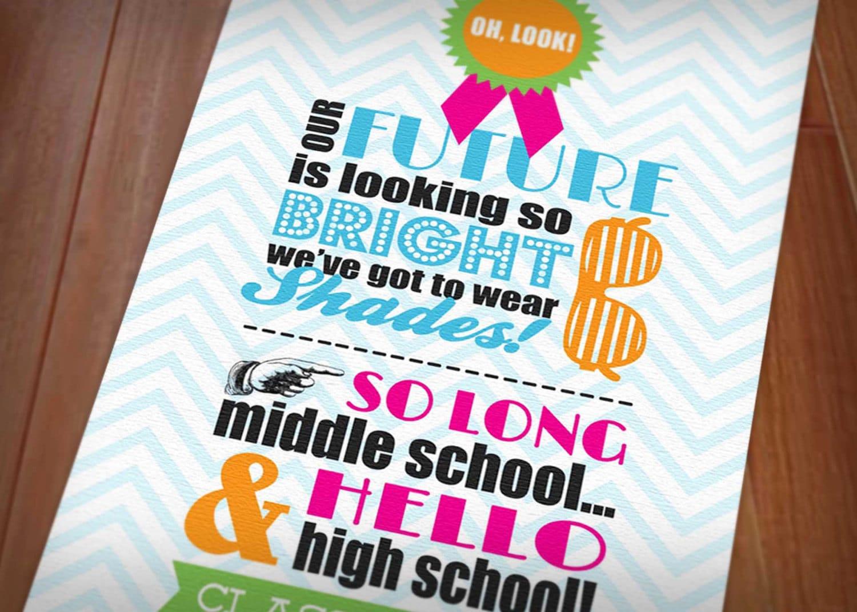High School Invitations with adorable invitation design