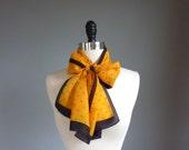 vintage BUMBLEBEE scarf  (w800y00-1)