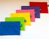 Reuseable Eco-Friendly Snack Bag--Choose Your Own Color