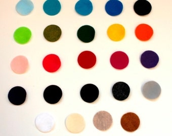 12 Die Cut Circles-- Pick Your Own Colors