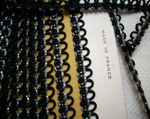 One yard of a Vintage french passementerie trim