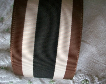 vintage ribbon stripe millinery 1940's
