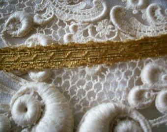 French antique gold bullion trim
