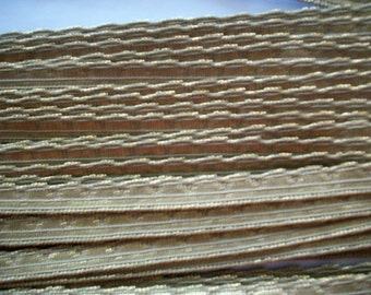1 yard of 1/4 inch antique metal trim, more avail.