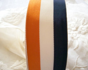2 yds.1940s stripe of gorgeous colors ribbon stripe, more avail.