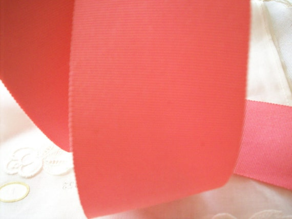Reserved for Susan 50 yds. of 2 inch petersham ribbon in cotton candy